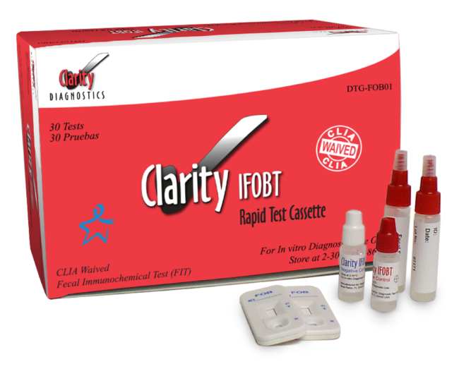 Clarity<sup>&reg;</sup> One-step Immuno Fecal Occult Blood Test